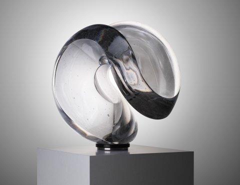 <p>Crystal one, diameter 45 cm</p>
